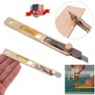 Una Leather Craft Tools DIY Incision Cutter Knife Copper Trimming with Blade Tool