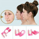 Una Nose Up Shaping Shaper Lifting Bridge Straightening Clip Face Corrector 2PCS