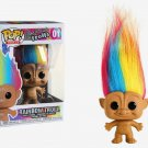 HOT SELLER Funko Pop Trolls: Good Luck Trolls - Rainbow Troll Vinyl Figure