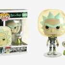 HOT SELLER Funko Pop Animation: Rick and Morty - Space Suit Rick with Snake Vinyl