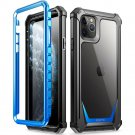 HOT SELLER IPhone 11 Pro Max Case Poetic Full-Body Hybrid Bumper Protector Cover BLUE