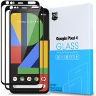 HOT SELLER 2-Pack For Google Pixel 4  [Full Coverage] Tempered Glass Screen Protector
