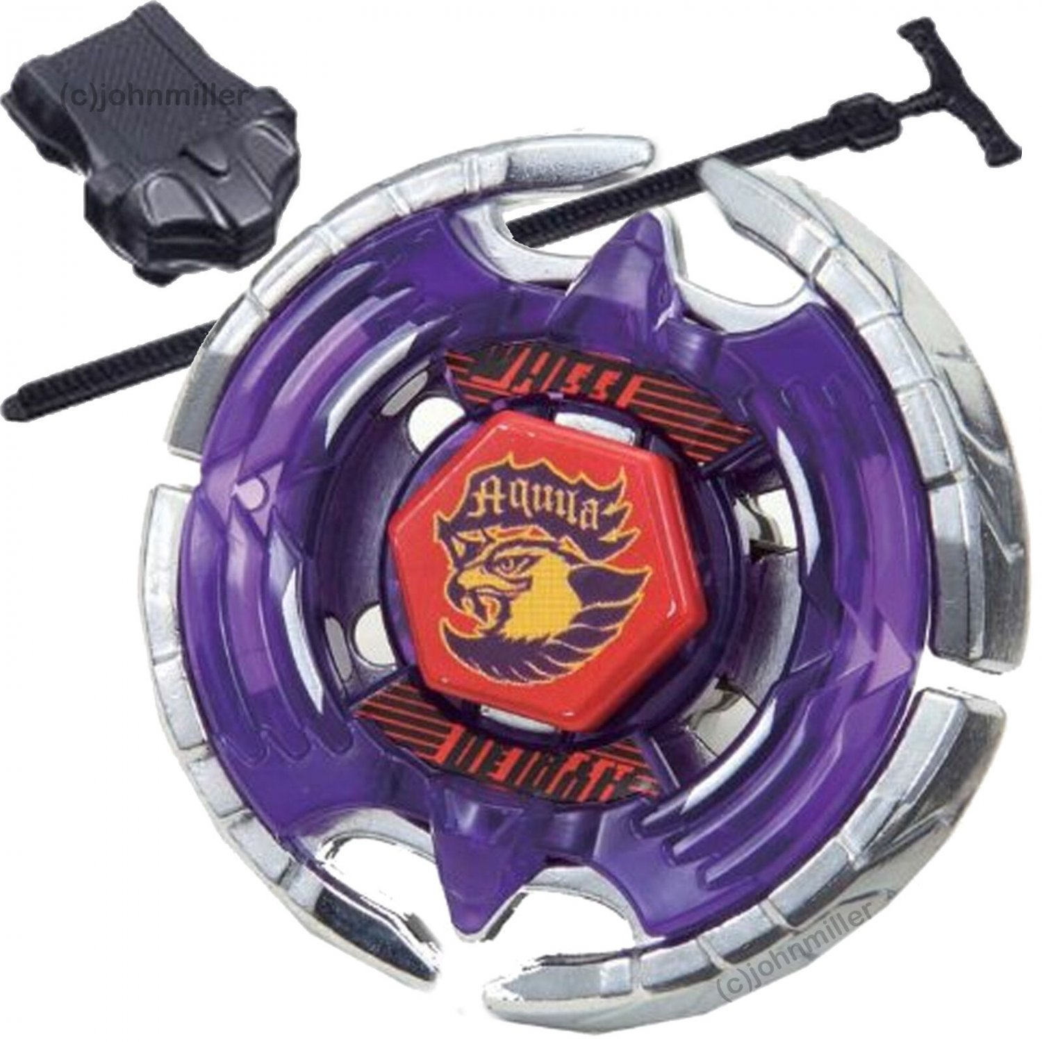 BEST SELLER Earth Eagle (Aquila) 145WD Beyblade BB-47 STARTER SET w/ Launcher & Ripcord