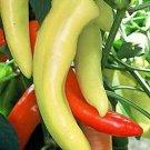 UNA SELLER Hungarian Hot Wax Pepper *Heirloom* (50 Seed's)