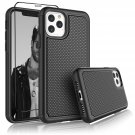 "UNA SELLER Black Shockproof Cover For Apple iPhone 11 6.1"" 2019 Phone Case"