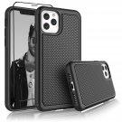 "UNA SELLER Black Shockproof Cover For Apple iPhone 11 Pro 5.8"" 2019 Phone Case"