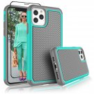 "UNA SELLER Turquoise Shockproof Cover For Apple iPhone 11 Pro 5.8"" 2019 Phone Case"