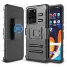 "UNA SELLER For Samsung Galaxy S20 Plus 6.7"" Case Clip Holster Stand Cover Black"