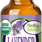 UNA SELLER 30 ml Organic Lavender Essential Oil (100% Pure - USDA Certified Organic)