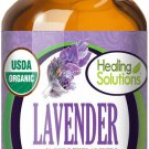 UNA SELLER 60 ml Organic Lavender Essential Oil (100% Pure - USDA Certified Organic)