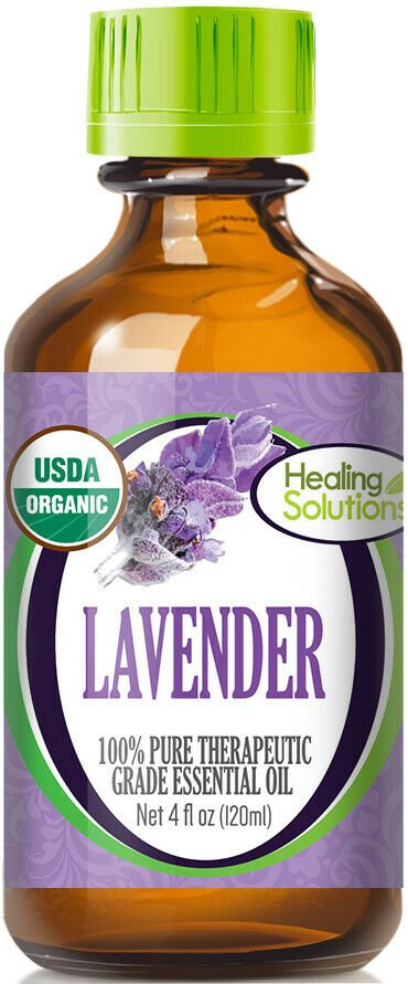UNA SELLER 120 ml Organic Lavender Essential Oil (100% Pure - USDA Certified Organic)
