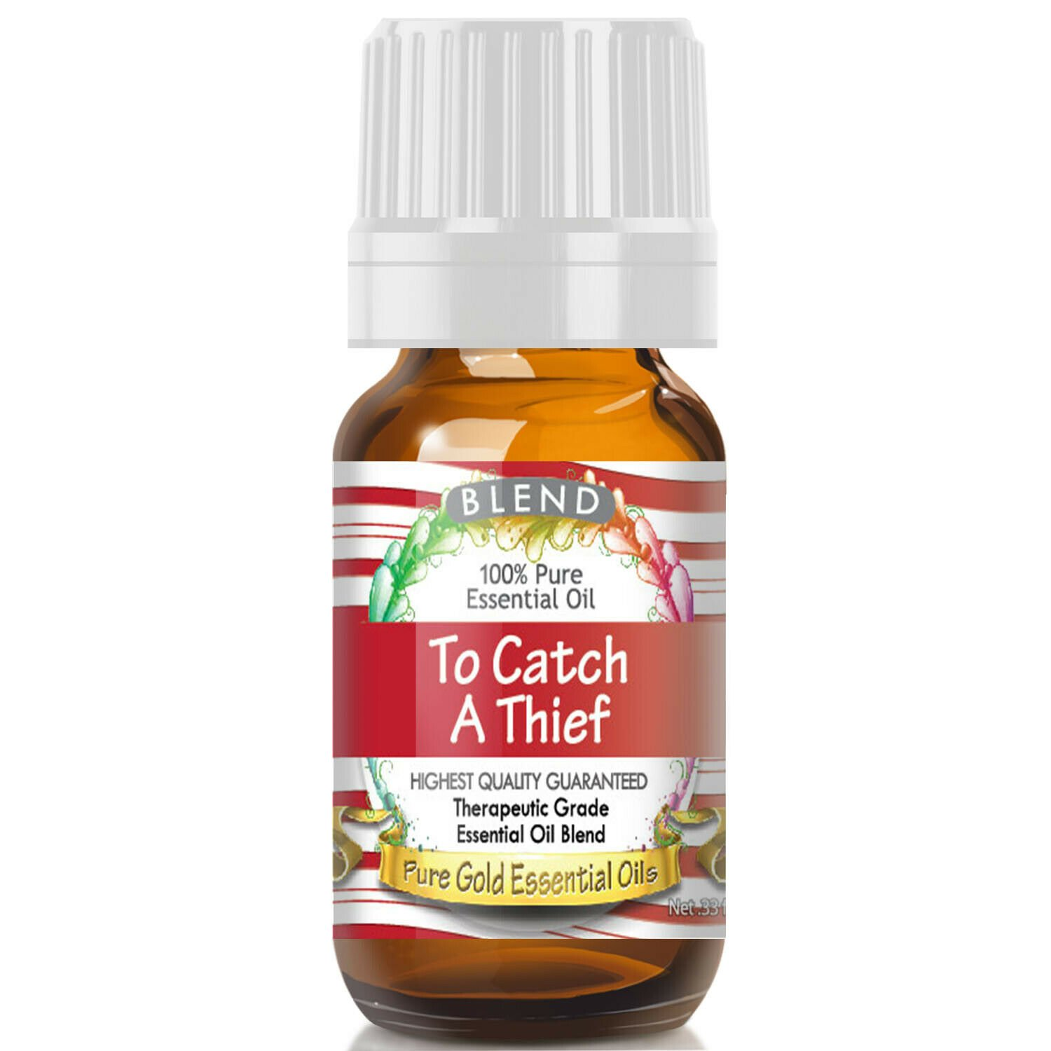 UNA SELLER To Catch a Thief Essential Oil (100% Pure, Natural, UNDILUTED) 10ml