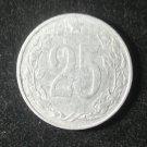 Coin Czechoslovakia 25 Haleru 1953