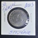 Coin Slovenia 50 Tolarjev 2003
