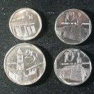 Lot 4 Coin Cuba 5 10 25 Centavos 1994 2000 2006 2009