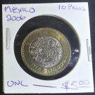 Coin Mexico 10 pesos 2006