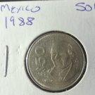 Coin Mexico 50 pesos 1988