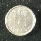 Coin Netherlands 10 Cent 1948