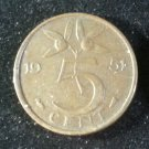Coin Netherlands 5 Cent 1951