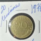 Coin France 20 centimes 1978