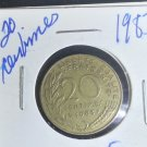 Coin France 20 centimes 1983