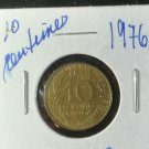 Coin France 10 centimes 1976