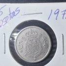 Coin Spain 5 Pesetas 1975 (78)