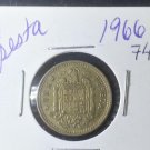Coin Spain 1 peseta 1966 (74)