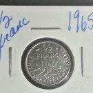 Coin France 1/2 Franc 1965