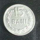 Coin Romania 15 Bani 1966