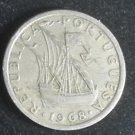 Coin Portugal 2 1/2 Escudos 1968