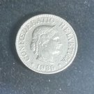 Coin Switzerland 10 Rappen 1989