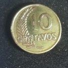 Coin Peru 10 Centavos 1948