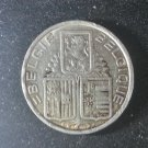 Coin Belgium 5 Francs 1939