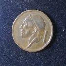 Coin Belgium 20 Centimes 1954 Dutch Text