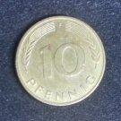 Coin Germany 10 Pfennig 1988 F
