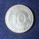 Coin Germany 10 Pfennig 1991 A
