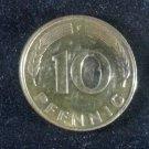 Coin Germany 10 Pfennig 1980 F