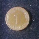 Coin Germany 1 Pfennig 1978 F