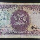Banknote Trinidad and Tobago $20 1985