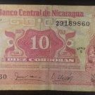 Banknote Nicaragua $10 1979