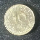 Coin France 10 centimes 1990