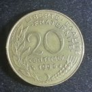 Coin France 20 centimes 1995