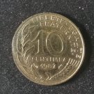 Coin France 10 centimes 1987