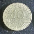 Coin France 10 centimes 1982