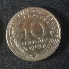 Coin France 10 centimes 1989