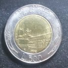 Coin Italy 500 Lire 1992