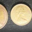 Lot 3 Coins Great Britain 1971  2 Pence Penny Halfpenny