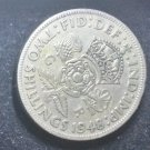 Coin Great Britain England UK 2 Shilling 1948