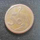 Coin South Africa 5 cents 1990